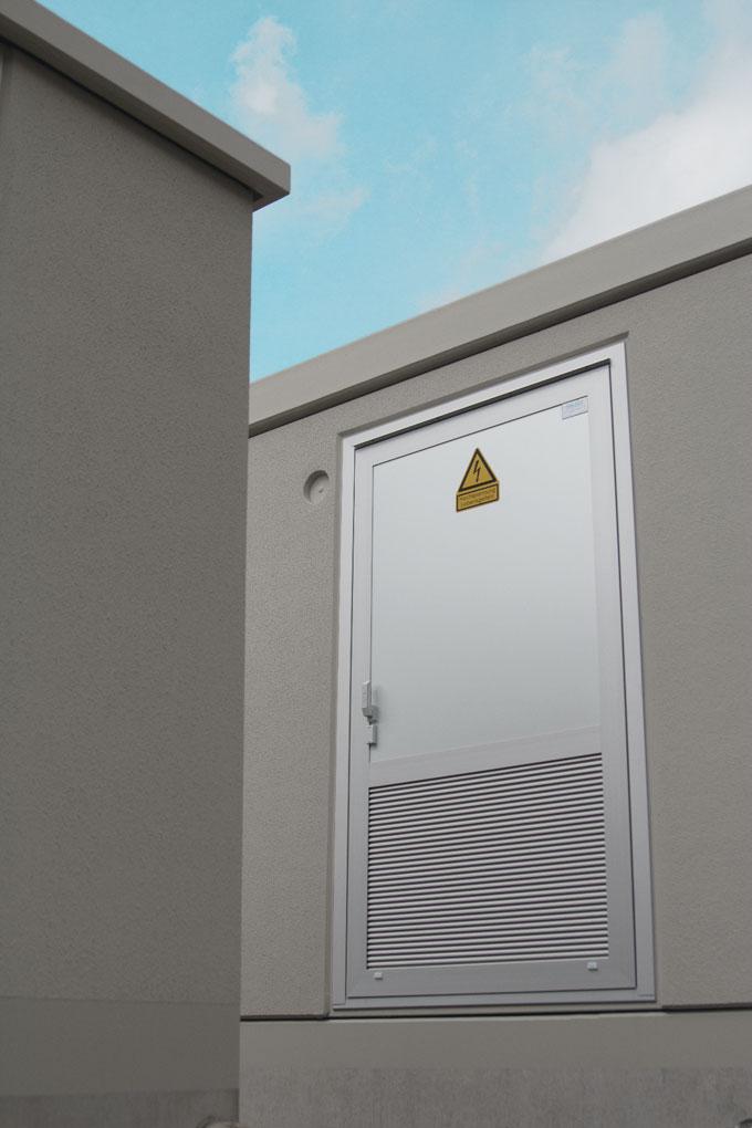 SCHEIDT-Türen und -Lüftungsgitter