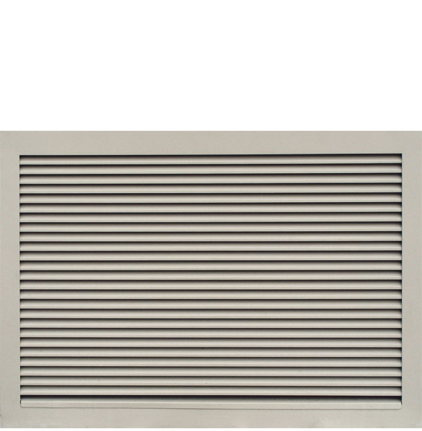 Steel ventilation grilles