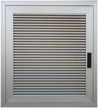 One-winged aluminum door