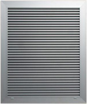 Aluminum ventilation grilles